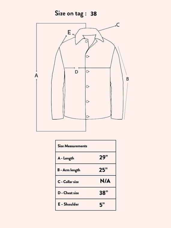 Vintage 70's J. Walden Brown Leather Blazer - image 10