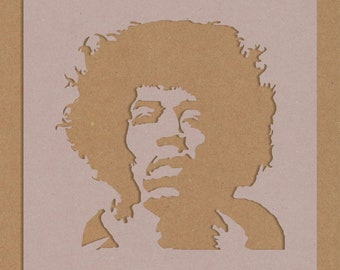 Hendrix Silhouette Etsy