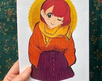 Winter Sketch book Zine