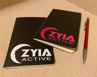 Branded Blank Mini Notebooks