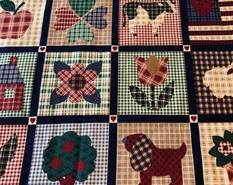 Cranston VIP Country Folk Art Fabric
