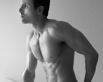 Josh, Male Nude Self Portrait