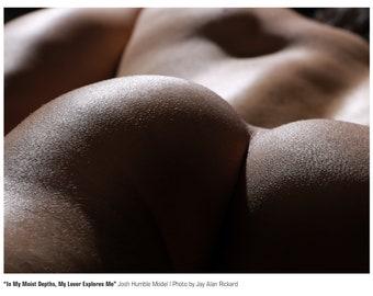 Male Buttocks, Josh Humble Model