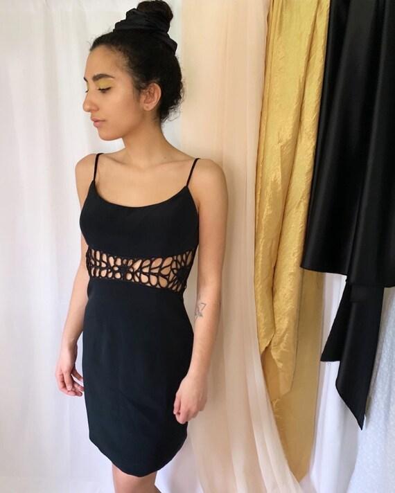 Vintage Cache Black Dress