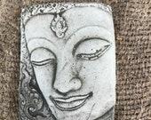 Reconstituted stone thai girl plaque statue oriental concrete garden ornament Outdoor