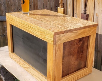 DIY Wood Jockey Box Cover Plans - Collapsible - Homebrew, Craft Beer
