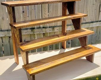 DIY Wood Cupcake Stand/Craft Fair Display - Build Plans