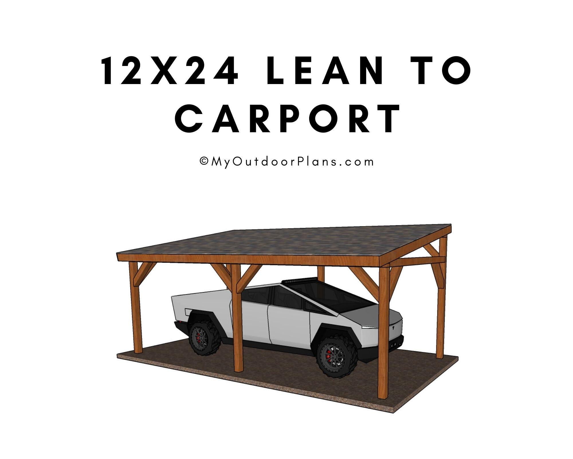 Diy Lean To Carport Plans 2021
