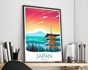 Japan Mount Fuji Print