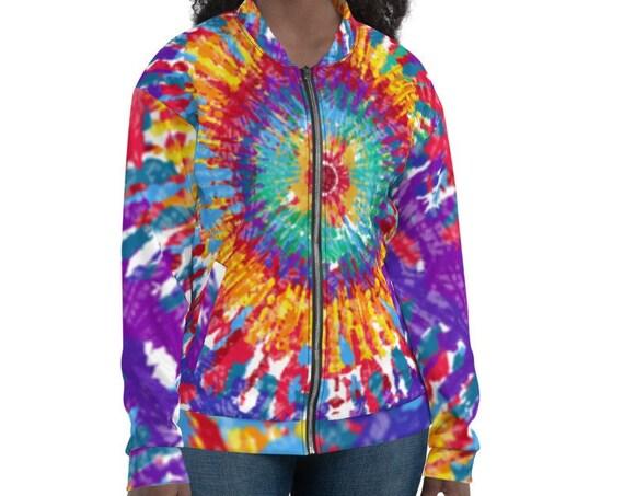 Tye Dye Bomber Jacket Satin, Tie Dye Bomber jacket, Tye Dye bomber jacket women, Varsity Bomber Jacket Satin, Zodiac Bomber Jacket, Goth