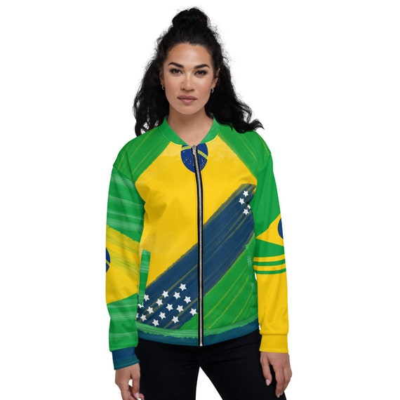 Satin Bomber Jacket Green, Brazil Bomber jacket, bomber jacket xxl, Varsity Bomber Jacket Satin, Green Bomber Jacket,Yellow Jacket Bomber,