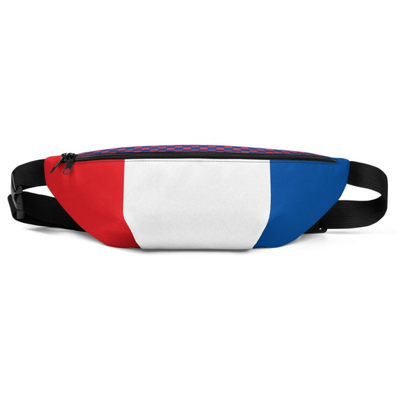 Fanny Pack, Waist Packs, Cute Belt Bags, for Men, Women, Rave, Bachelorette, Bridal Travel, Utility Belt, Bag, France Volleyball Gifts