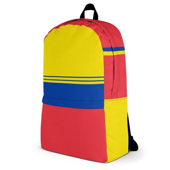 Blue backpack women, waterproof backpack, rucksack, travel backpack, beach bag, small backpack, hipster backpack, weekender bag, Venezuela