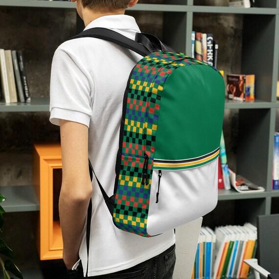 green kids backpack, waterproof backpack, rucksack, travel backpack, beach bag, small backpack,hipster backpack, weekender bag, South Africa