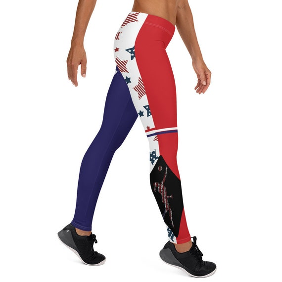 Volleybragswag Rave Leggings Feature The American Volleyball Libero Word Art Design