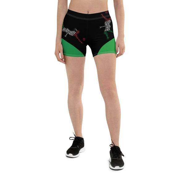italy Flag, Shorts Woman, Girl Volleyball Shorts, Tie Up Shorts, Festival Rave Yoga Shorts, Geometric Shorts Long, Cute Bermuda Shorts