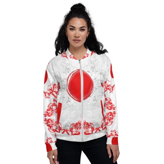 Tye Dye Bomber jacket, Japanese bomber jacket women, Red Varsity, Bomber Jacket Satin, Woman Bomber Jacket, Colorblock Jacket Bomber,
