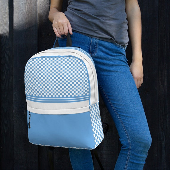 blue sac argentina, small backpack woman, backpack, waterproof backpack for woman, white rucksack, small nylon waterproof backpack woman