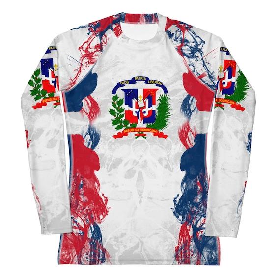 Tie Dye Rash guard, Rashguard, Beach Cover up, Long Sleeve Swimsuit, Swimwear, Swimsuit, Bathing Suit, Dominican Republic Volleyball Gifts