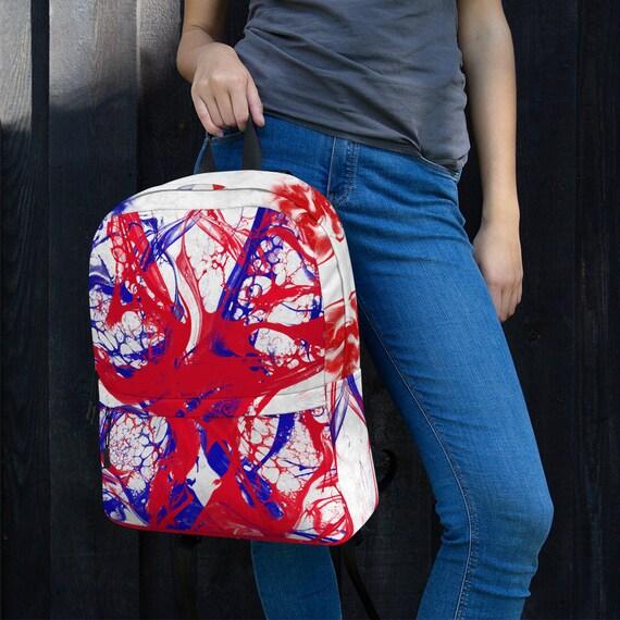 tye dye, waterproof backpack, travel backpack, beach bag, small backpack, hipster backpack, weekender bag, kids backpack, rucksack,France