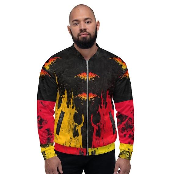 Red bomber jacket men, festival jacket, Varsity Bomber Jacket Satin, Zodiac Bomber Jacket, Space Bomber Jacket, Zodiac Bomber Jacket