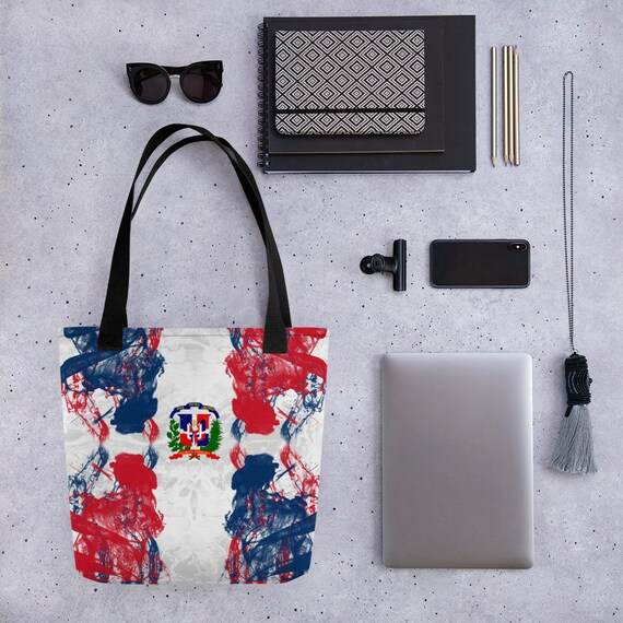 Dominican Republic, Cute Tote bag, college school supplies, funny tote bag, animal tote bag, teacher tote, book bag, bridesmaid bag,