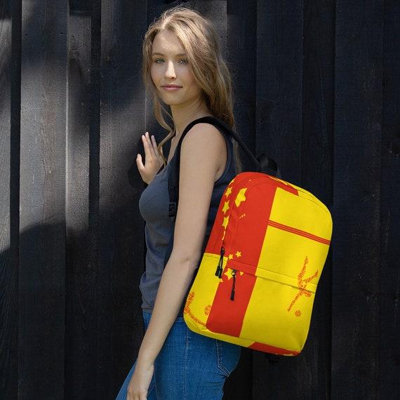 red backpack women, kids backpack, waterproof backpack, travel backpack, beach bag, small backpack, hipster backpack, weekender bag, China