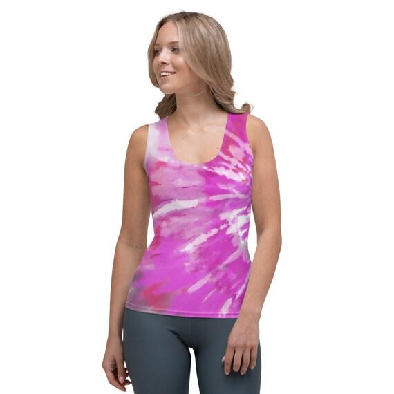 Tie Dye Tank Tops For Women, Comfy, Tank tops for woman, Tank tops for workout, volleyball tank, tie dye tank tops, volleyball tank tops