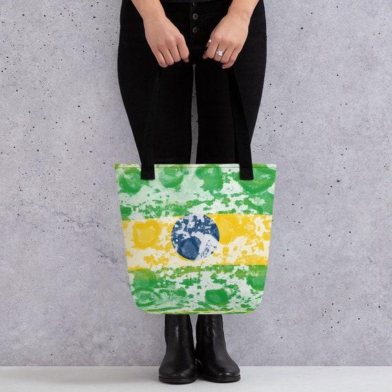 Brasil, Brazil, Sao Paulo, Cute Tote bag, college school supplies, funny tote bag, animal tote bag, teacher tote, book bag, bridesmaid bag,