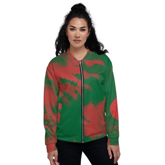 Satin Bomber Jacket Green, Tye Dye Bomber jacket, Pakistan, Green Varsity Bomber Jacket, Zodiac Bomber Jacket, Jacket Bomber, Colorblock