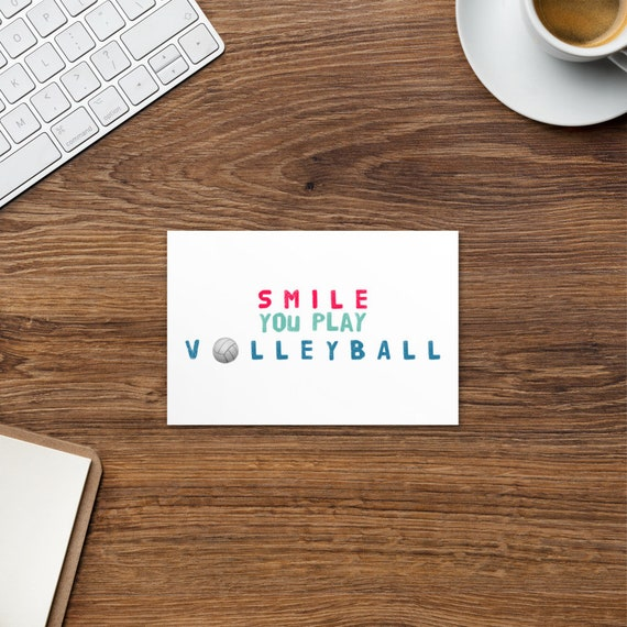 Standard Postcard Volleyball Gifts Volleyball Gifts Volleyball Gifts , Gift For Volleyball Player