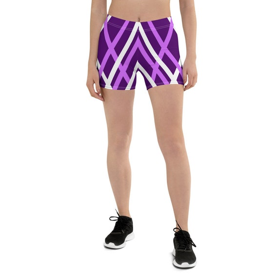 Woman Purple Shorts, Shorts Woman,  Beach Volleyball Shorts, Tie Up Shorts, Y2K Tie Shorts, Gym Shorts, cute bermuda shorts, festival shorts