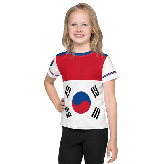 Korea Crop Tops for Teens, Korea flag Shirt, Korea Crop Shirt, Korea Flag, Korea Cute Crop Top, Korea Flag T shirt, Korea Streetwear Woman