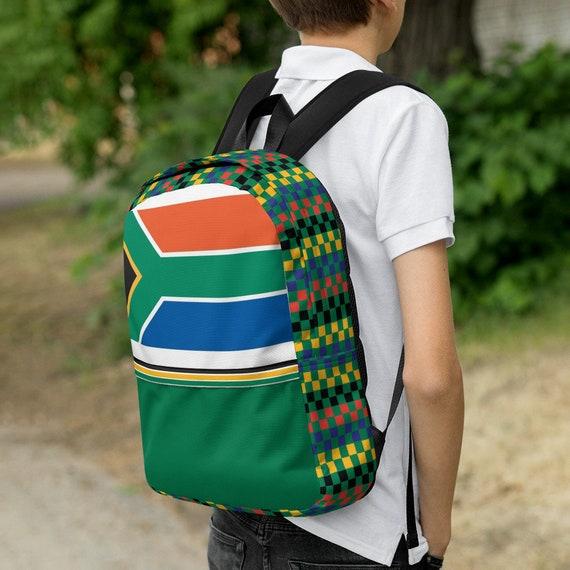 green kids backpack, waterproof backpack, rucksack, travel backpack, beach bag, small backpack, hipster backpack,weekender bag, South Africa