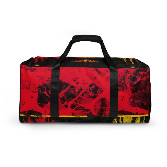Germany Duffle bag, Duffel volleyball, duffel bag with shoe compartment under, duffle bag for teens, duffle bag woman, Red Weekender Bag