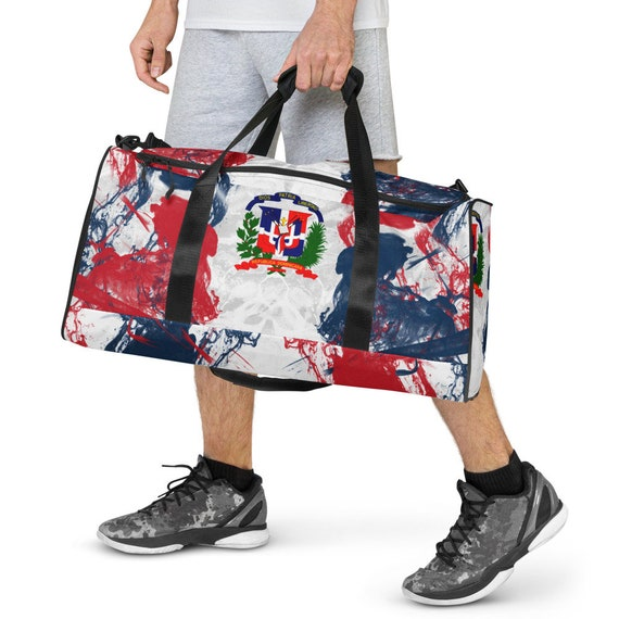 Dominican Republic Duffle bag, Duffel volleyball, duffel bag with shoe compartment under, duffle bag for teens, duffel bag, duffle bag woman