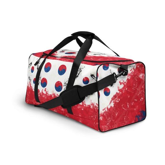 Korea Duffle bag, Duffel volleyball, duffel bag with shoe compartment under, duffle bag for teens, duffel bag, duffle bag woman