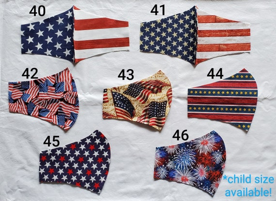 PATRIOTIC Face Mask
