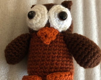Crocheted Barn Owl · Extract from Crocheted Birds by Vanessa ...   270x340