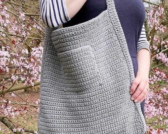 CROCHET PATTERN Nature Walk Tote Bag   Crochet Bag Pattern   Easy Crochet Pattern   Crochet Tote Pattern   Beginner Crochet Pattern