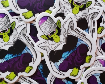 Dragonball Z Powerpuff Girls Mojojojo-Picolo Stickers