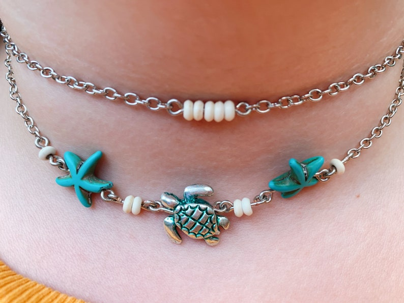 Layered Beachy Necklace