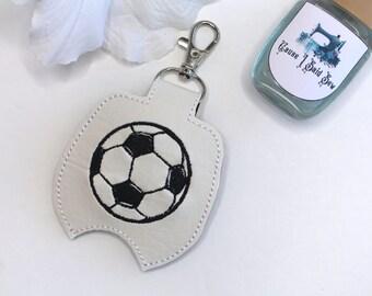 Hand Sanitizer holder - Soccer Ball