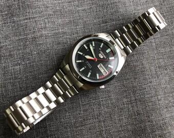 Seiko jewel automatic watch | Etsy