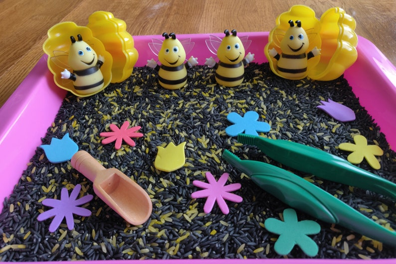 Gifts For Girls Easter Gifts Spring Gifts Gifts For Boys Sensory Kit Bee
