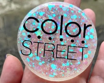 """Color Street Nailfie Nail Showoff Disks 3"""" Multi color available"""