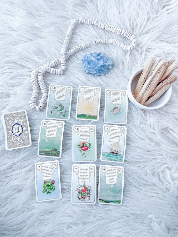 1 Hour Oracle Zoom Reading (Angel, Sibilla, Lenormand or Kipper)