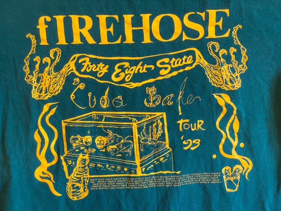 Vintage 1993 Firehose Forty Eight State Cuda Bake
