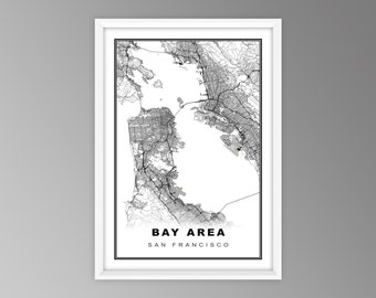 Bay Area Map Etsy The following page links to this file: bay area map etsy