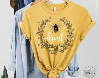 Be Kind Shirt, Bee Kind Shirt, Kindness Shirt, Be Kind Shirts for Women, Kindness T Shirt, Teacher Shirt, Vintage T Shirt, Mental Health Tee